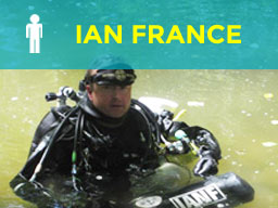 Ian France Diver Training
