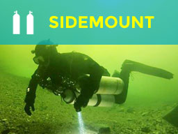 Sidemount Diver Training