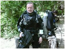 Ian France Cave Diver